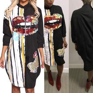 RARE FIND SHIRT DRESS  *NWT* ⭐️